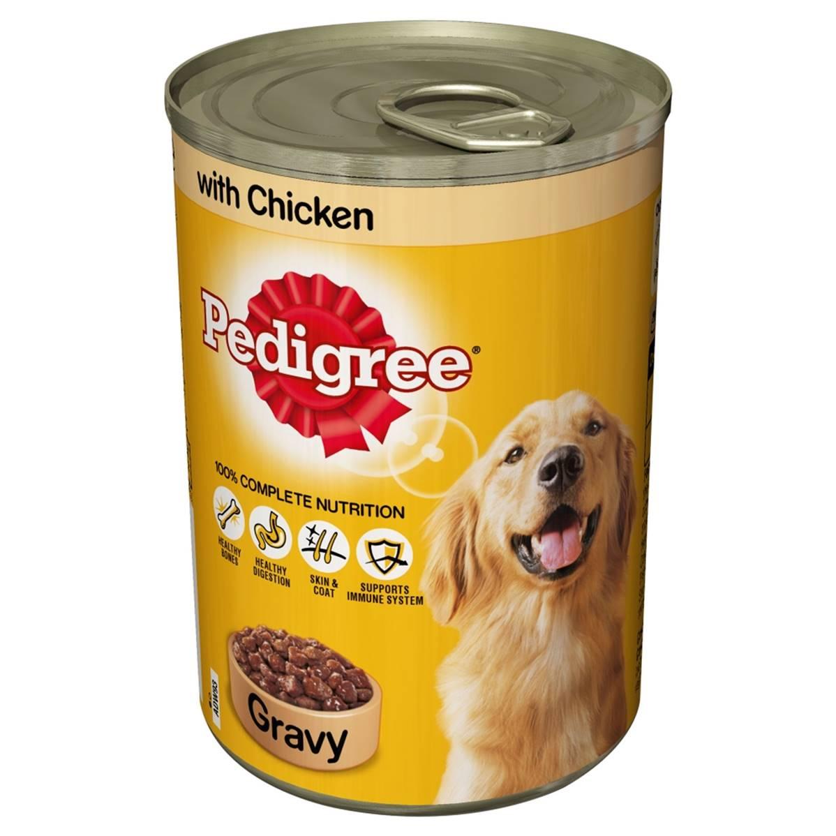 Cans Of Pedigree Dog Food