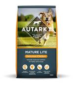 Autarky Mature Lite Gluten Free Dog Food - Delicious Chicken 12kg