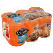 Butchers Classic 6 Pack Cat Food Fish In Jelly