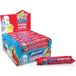 Johnson's Honey Enriched Budgie & Parakeet Treat Bar - Fruity Stick