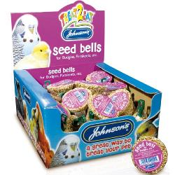 Johnson's Honey Enriched Budgie Treat - Seed Bell