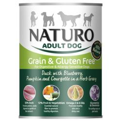 ASSISI ANIMAL SANCTUARY DONATION - Naturo Duck And Blueberry Tin 390g