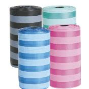 Trixie Dog Dirt Bags Medium 4 Rolls Of 20pcs Sorted
