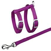 Trixie Cat Harness With Lead Nylon 22-42cm/10mm, 1.25m