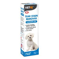 VetIQ Tear Stain Remover Cleansing Aid 100ml