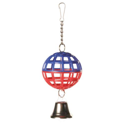 Trixie Lattice Ball & Bell Small Bird Toy