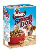 Bakers Complete Dog Food for Small Dog - Beef 1.1kg