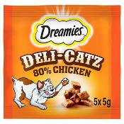 DREAMIES Deli-Catz Cat Treats With Chicken