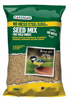 Gardman No Mess Seed Mix 20kg
