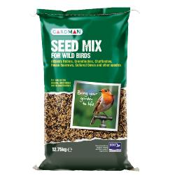 HEDGEHOG RESCUE DUBLIN DONATION - Gardman Seed Mix (12.75kg)