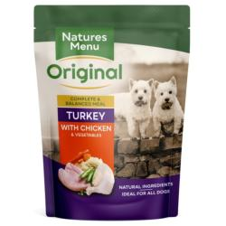 Natures Menu Wet Dog Food (Adult) - Chicken and Turkey 300g