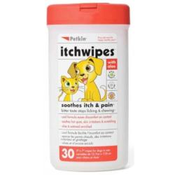Petkins Itch Wipes 30 Pack