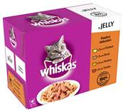 Whiskas Multipack 12x100g Poultry Selection in Jelly