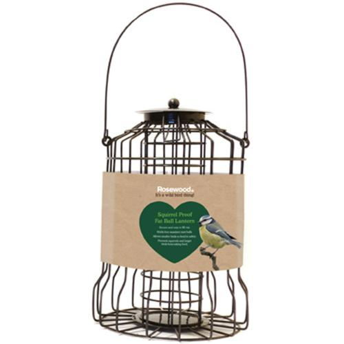 Rosewood Squirrel Proof Fat Ball Lantern