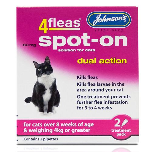 Cat Flea, Worm & Tick Control