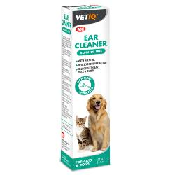 MOOSE'S SIGHTHOUND TRUST DONATION - M&C Ear Cleaner For Cats & Dogs 100ml