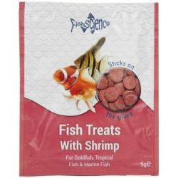 Fish Science Treats With Shrimp (9g Sachet)
