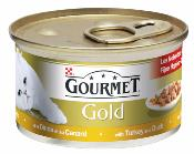 Gourmet Gold Cans 85g Duck & Turkey Chunks in Gravy