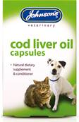 Johnson's Cod Liver Oil Capsules 40 Tablets