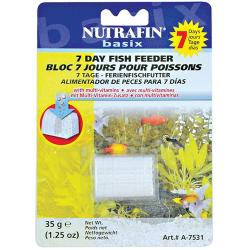 Nutrafin Basix 7 Day Holiday Tropical Fish Feeder Block