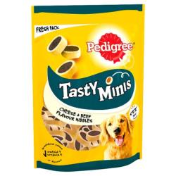 Pedigree Tasty Minis Cheesy Nibbles With Cheese & Beef (140g)