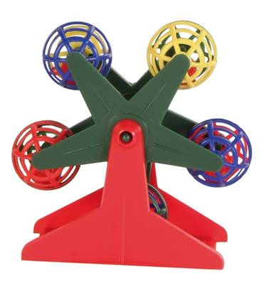 Trixie Ferris Wheel With Balls 10cm