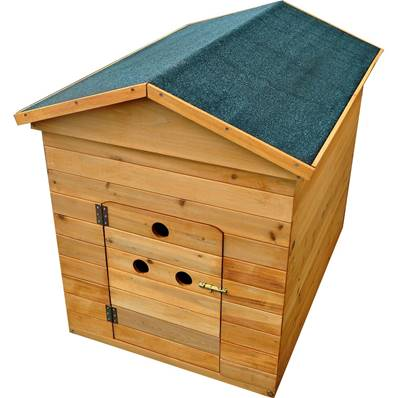 Wooden Dog Kennel Medium