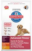 Hills Science Plan Advanced Fitness Dog Food for Large Breeds (Adult) - Chicken 12kg