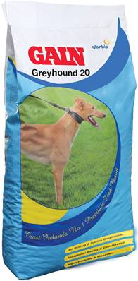 Gain Greyhound 20 Dog Food - 15kg