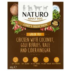 Naturo Wet Dog Food (Adult) - Chef Selection Grain Free Chicken 400g