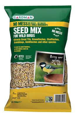 Gardman No Mess Seed Mix 12.75kg