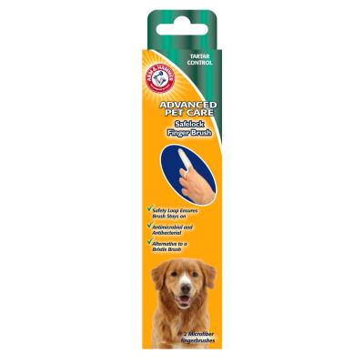 Arm & Hammer Advance Safelock Finger Brush 2 Pack