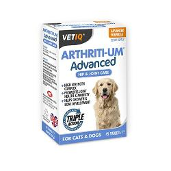 VetIQ Arthriti-Um Advanced Hip & Joint Care (45 Tablets)