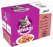 Whiskas Multipack 12x100g Meat Selection in Jelly