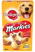 Pedigree Markies Dog Biscuits - Meaty Rolls With Marrowbone 500g