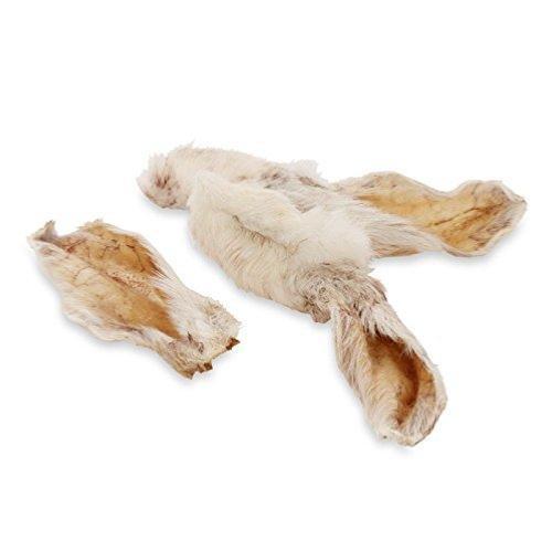 Anco Naturals Dog Treat Hairy Rabbit Ear