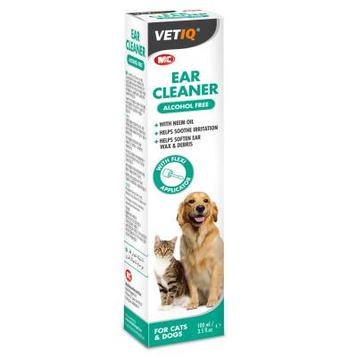 M&C Ear Cleaner For Cats & Dogs 100ml