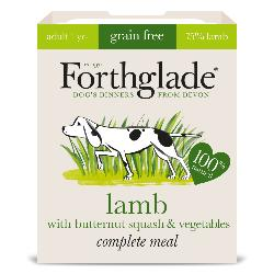 Forthglade Grain Free Lamb & Vegetables Natural Complete Dog Food Tray 395g
