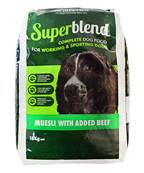 Heatherlea Superblend Mueslli Dog Food For Sporting Dogs - Beef 18kg