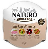 Naturo Cat Turkey Mousse Foil 85g