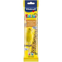 Vitakraft Kracker Canary Treat Sticks (2 Pack) - Egg & Grass Seed