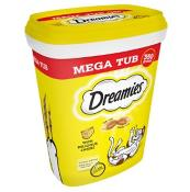 Dreamies Cat Treats With Cheese Mega Tub 350g