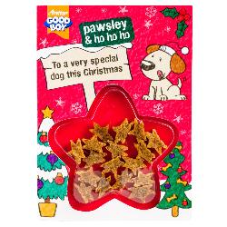 Armitage Pawsley Dog Meaty Treats Christmas Card