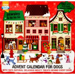 Armitage Pawsley Meaty Treats Advent Calendar For Dogs