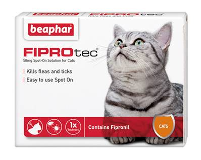 Beaphar Fiprotec For Cats 1 Treatment Pack
