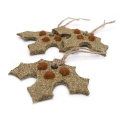 Rosewood Gnawable Holly Leaves for Small Pets - 3 Pack