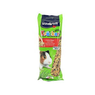 Vitakraft Guinea Pig Fruit Flake Sticks 2 Pack