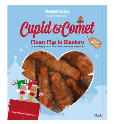 Rosewood Finest Pigs In Blankets For Dogs 100g