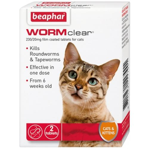 Beaphar WormClear Cat Wormer Tablets
