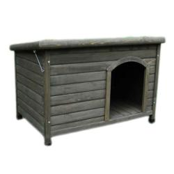 Cheeko Flatroof Cabin Wooden Dog Kennel